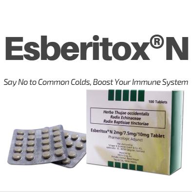 Esberitox Facebok Page